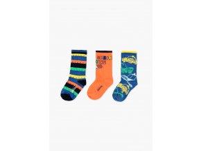 Chlapecké ponožky Auta barevné Boboli3980555063 a