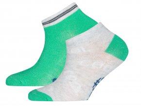 Dětské ponožky Cool zelené