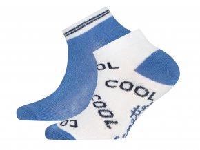 Dětské ponožky Cool modré