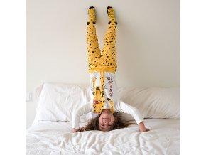 Holčičí pyžamo žluté