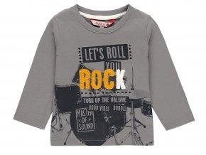 3410867363 a Chlapecké tričko šedé Rock