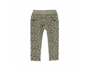 2110829418 a dívčí teplé kalhoty khaki Boboli
