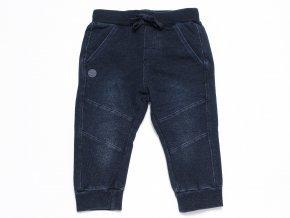 Chlapecké tepláky Jeans tmavomodré washoutChlapecké tepláky Jeans černé washout K 1039wer7