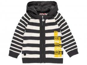 Chlapecký pletený svetr s kožíškem Music