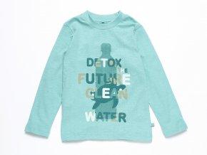 Dětské tričko s dlouhým rukávem Detox ORGANIC K 10595