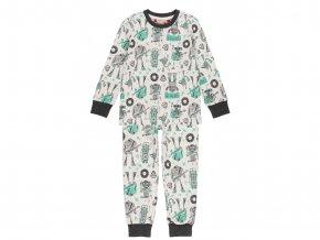 Chlapecké pyžamo Robot Music