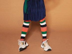 Dívčí punčocháče Chilli pruhované NONO model