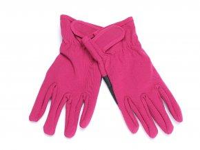 Dívčí softshelové rukavice Magenta K 13051