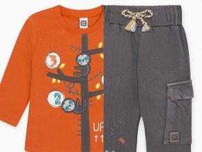Chlapecká souprava tričko a tepláky Strom