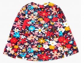 Dívčí strečové tričko Boboli květy a