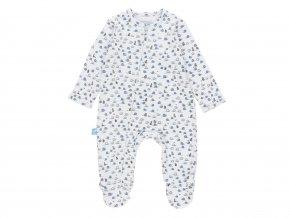 Klučičí kojenecký overal modrý šnek1020929482 a