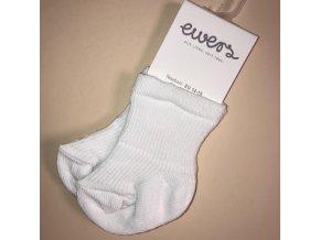 Kojenecké ponožky krémově bílé s froté mimi OEKO TEX 24223 902 laté