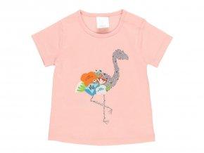 Holčičí růžové tričko Plamenák2220283714 a