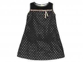 Holčičí šaty černobílé s puntíky722719890 a