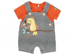 Letní kojenecké šortky s laclem a tričkem1121275096 a