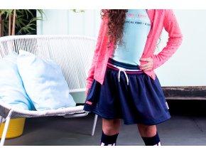 Holčičí sportovní sukně modrá BNOSY tamvě modrá sukně krátká pro holkuY102 5331 290 2