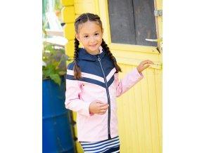 Dívčí nepromokavá bunda růžová holka BNOSY Holand model Y102 5210 262 2