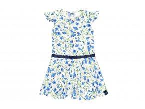 Holčičí květované šaty modrobílé4020519516 a