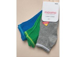 Dětské ponožky kluk barevné šedé modré zelené 03836330100 8828