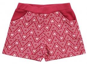 Kojenecké šortky kraťásky holčička červené růžové malina Jacky 3711070 0 2878 copy