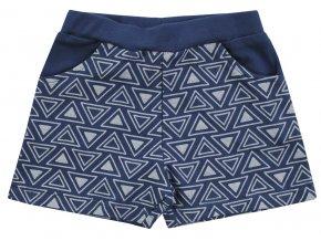 Kojenecké šortky kraťásky holčička modré tmavě modré Jacky 3711070 0 3578 copy
