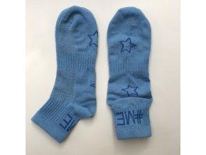 Dětské ponožky světle modré jean sport nízké Maximo 93236 309000 40 b