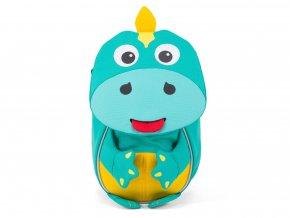 Dětský zelený batoh DINO pro nejmenšíLarge JPG AFZ FAS 001 032 Affenzahn Rucksack Daniel Dinosaurier 01