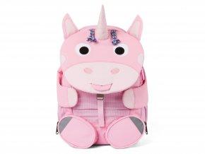 Dětský růžový batoh Jednorožec AFZ FAL 003 027 Affenzahn