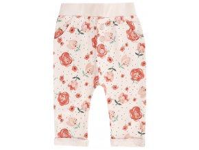 Kojenecké tepláčky kalhoty pro holčičku růžové Růženka