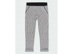 Dívčí pletené kalhoty černobílé Boboli holka 443113890 a
