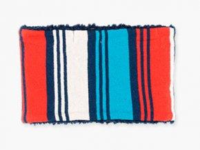 Klučičí nákrčník tunel trikolóra tmavě modrý červený bílý kluk Boboli výprodej 3481513637 b