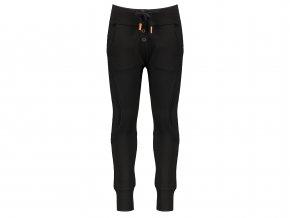 Dívčí strečové kalhoty černé SOSO NONO hladké kalhoty N108 5611 014