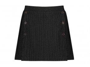 Dívčí šortky se sukní sukňové šortky černé elegantní proužek NoNo holka N108 5606 014 a