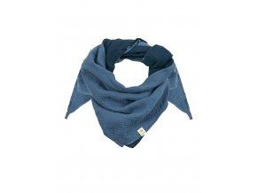 Dětský šátek modrý Organic bio bavlna mimi Maximo 13400-093200/1648