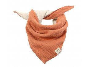 Dětský šátek skořicový Organic bio bavlna mimi Maximo 13400-093200 3510