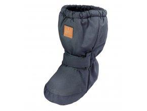 Kojenecké termo botičky tmavě modré měkké boty ke kombinéze Maximo 05203 950000 67