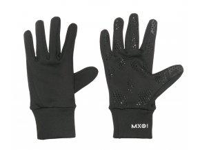 Dětské softshellové rukavice na mobil černé rukavice na mobil Maximo 99103 896800 46