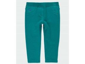 Dívčí tepláčky s fleecem tmavě zelené kalhoty zateplené holka Boboli 2930044552 a