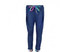 11A PANTALON ZAGAL VAQUERO OSCURO sportovni kalhoty patchwork denim modre