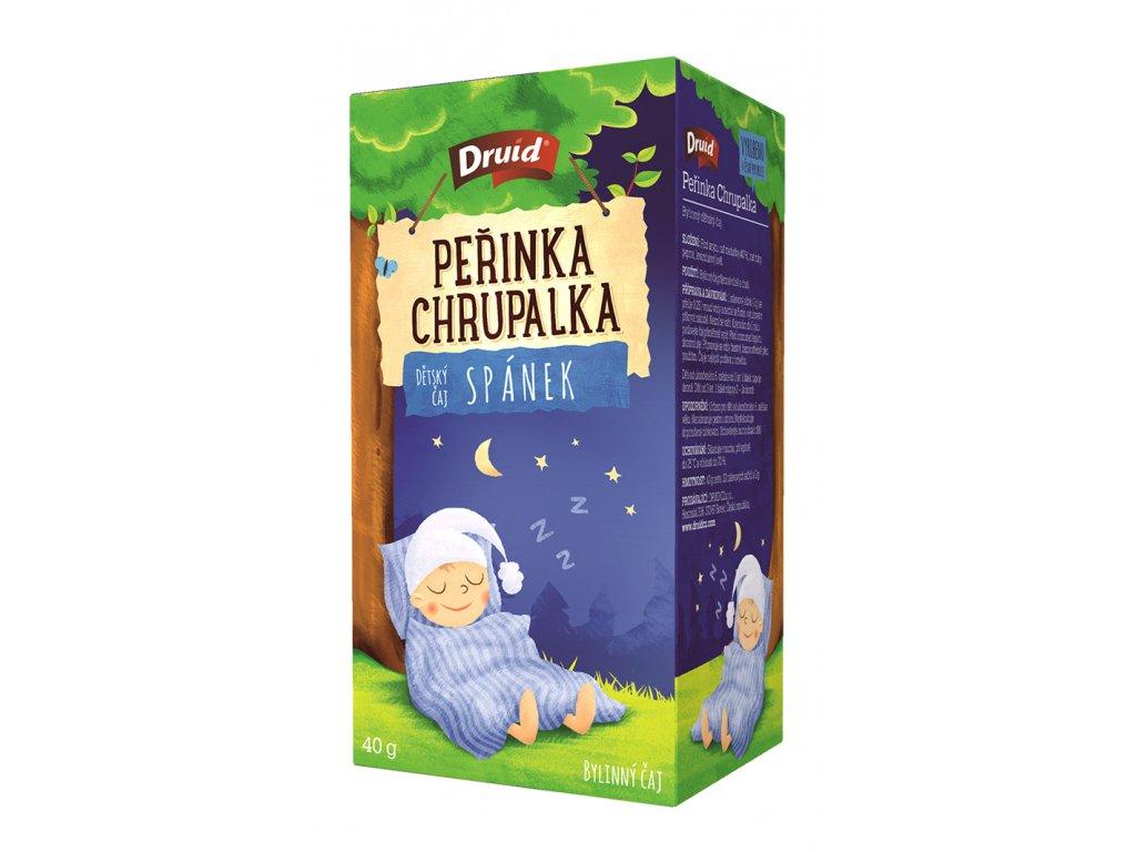 Peřinka Chrupalka Dětský bylinný čaj spánek DRUID 40 g