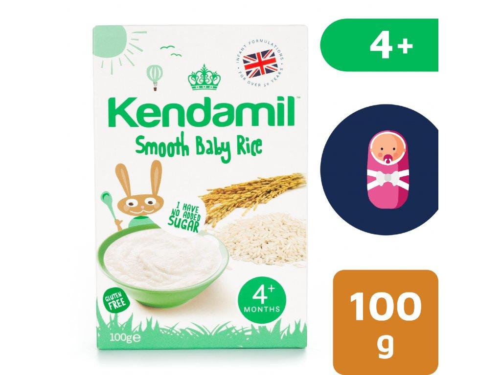 Kendamil Jemná dětská rýžová kaše (100 g)