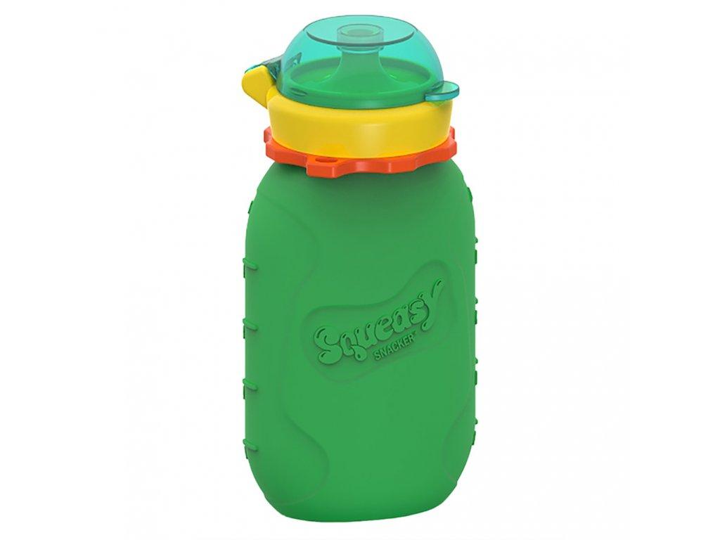 Squeasy Gear kapsicka 180ml Zelena
