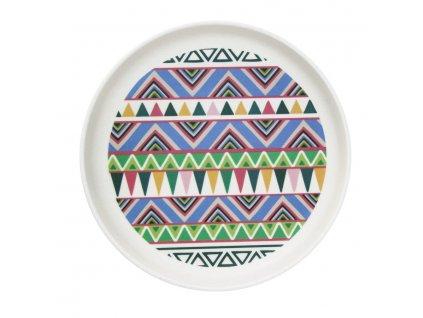 Bambusový talíř - Ethnic Festive