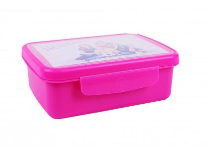 Zdravá sváča - komplet box FLUO fialová
