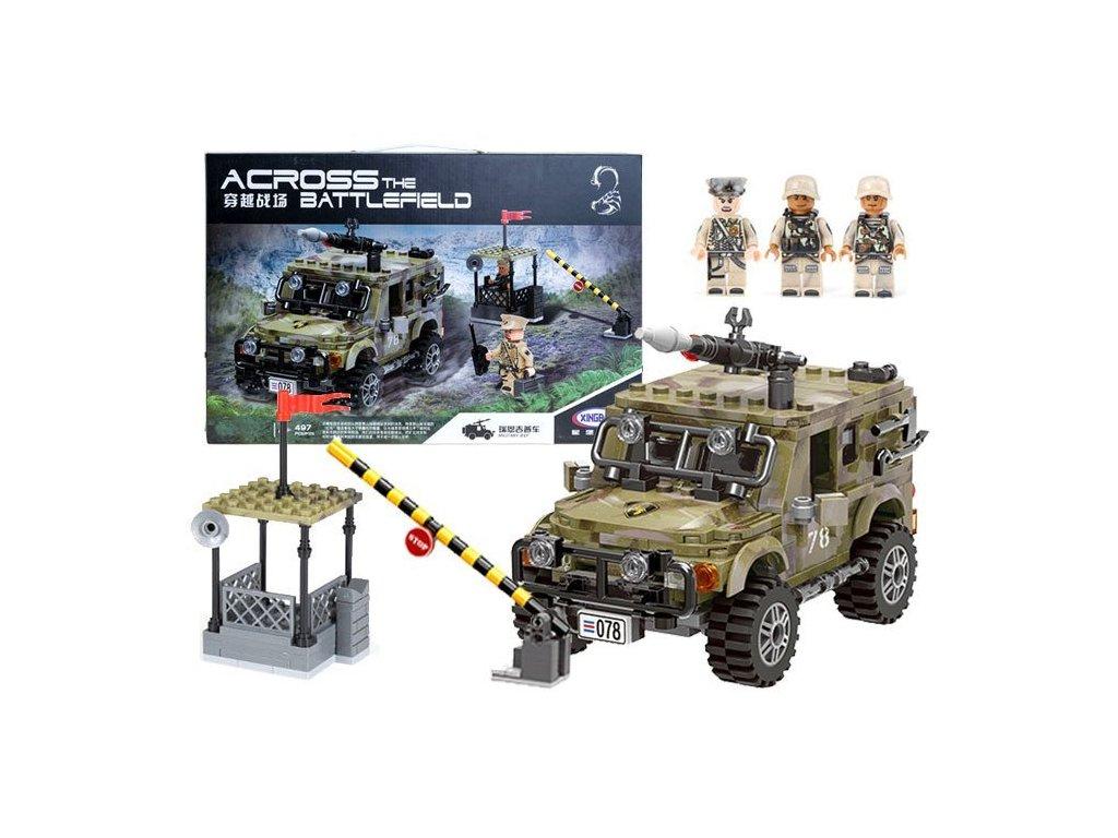 lego vojensky transporter Mamido (1)