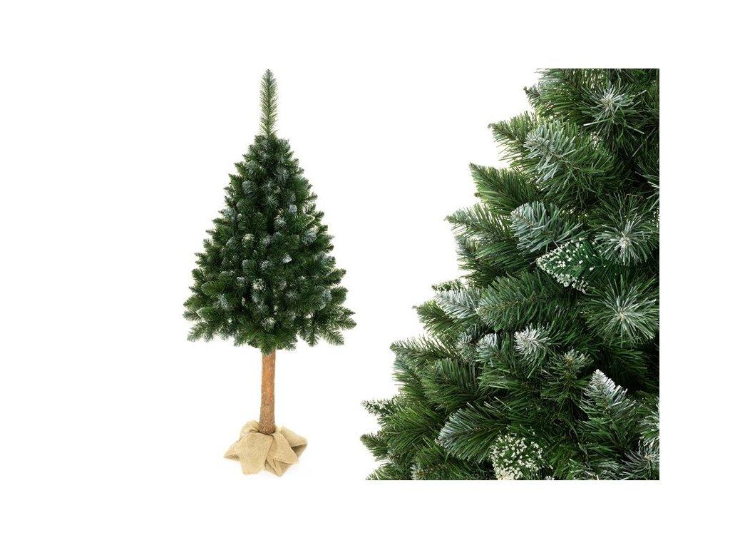 Umělý vánoční stromeček na kmínku 160 cm borovice 2