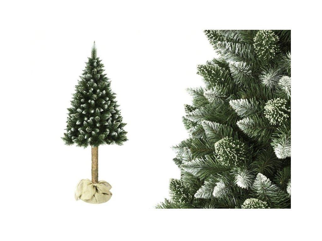 Umělý vánoční stromeček na kmínku borovice 220 cm