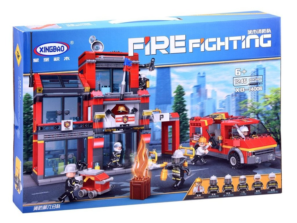 hasicska stanice mamido stavebnice (3)