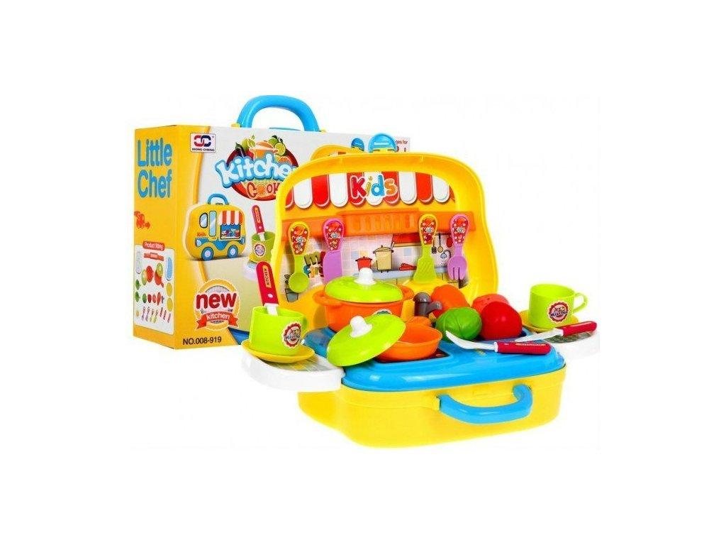 Dětská kuchyňka Food Truck kufřík 1