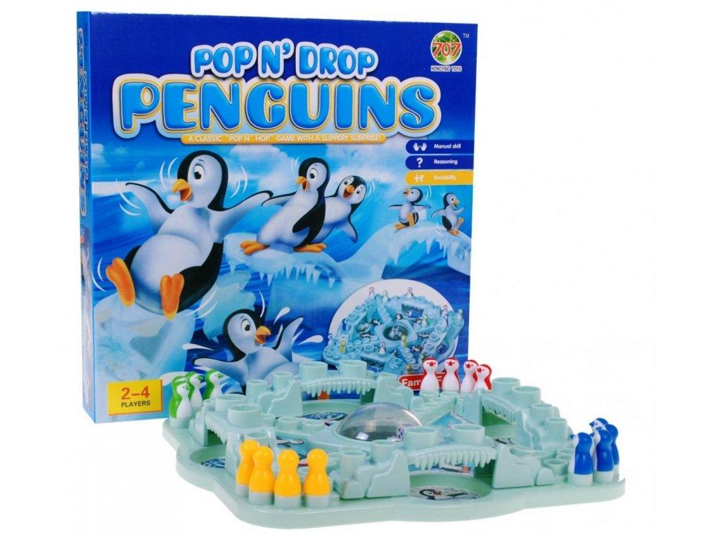 Padající tučňáci - Tučňáku, nezlob se!